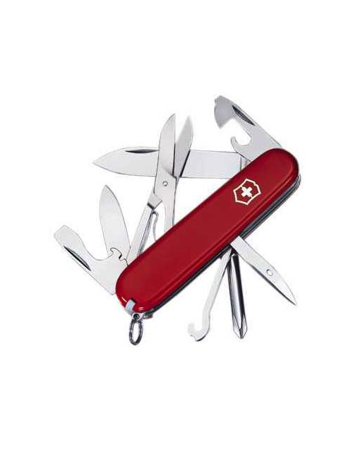 Victorinox Super Tinker Swiss Army Knife Red By