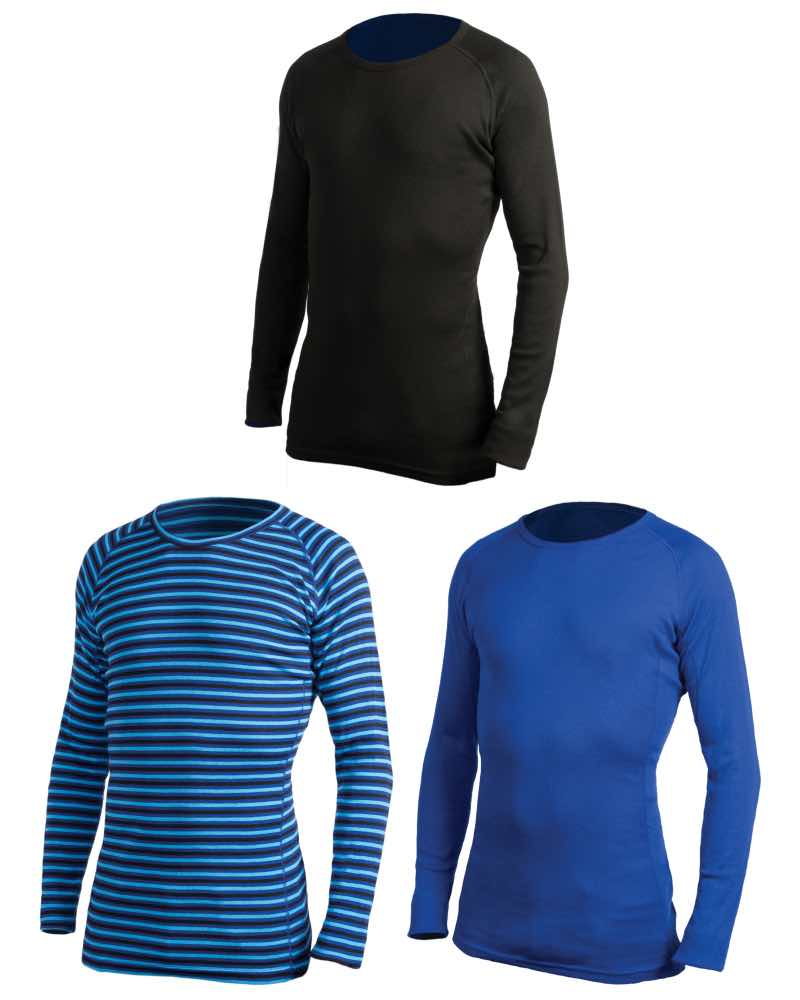 71d697b62e049 360 Degrees : Unisex Polypro Active Thermal Top - Available in 3 Colours  and 8 Sizes ...