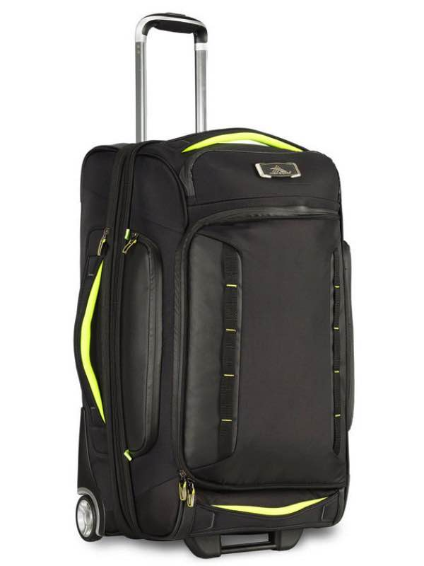 At8 54cm Wheeled Drop Bottom Upright Duffle With Hidden