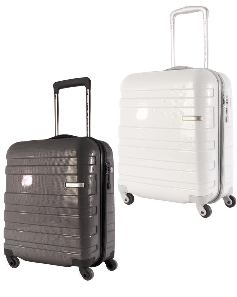 american tourister hs mv deluxe 50cm carry on spinner. Black Bedroom Furniture Sets. Home Design Ideas