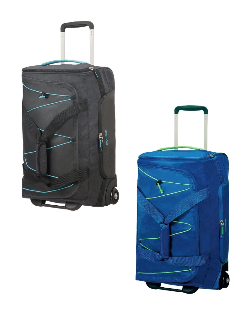 c6bba637e American Tourister : Road Quest Wheeled Duffle Bag - Small Cabin 55cm