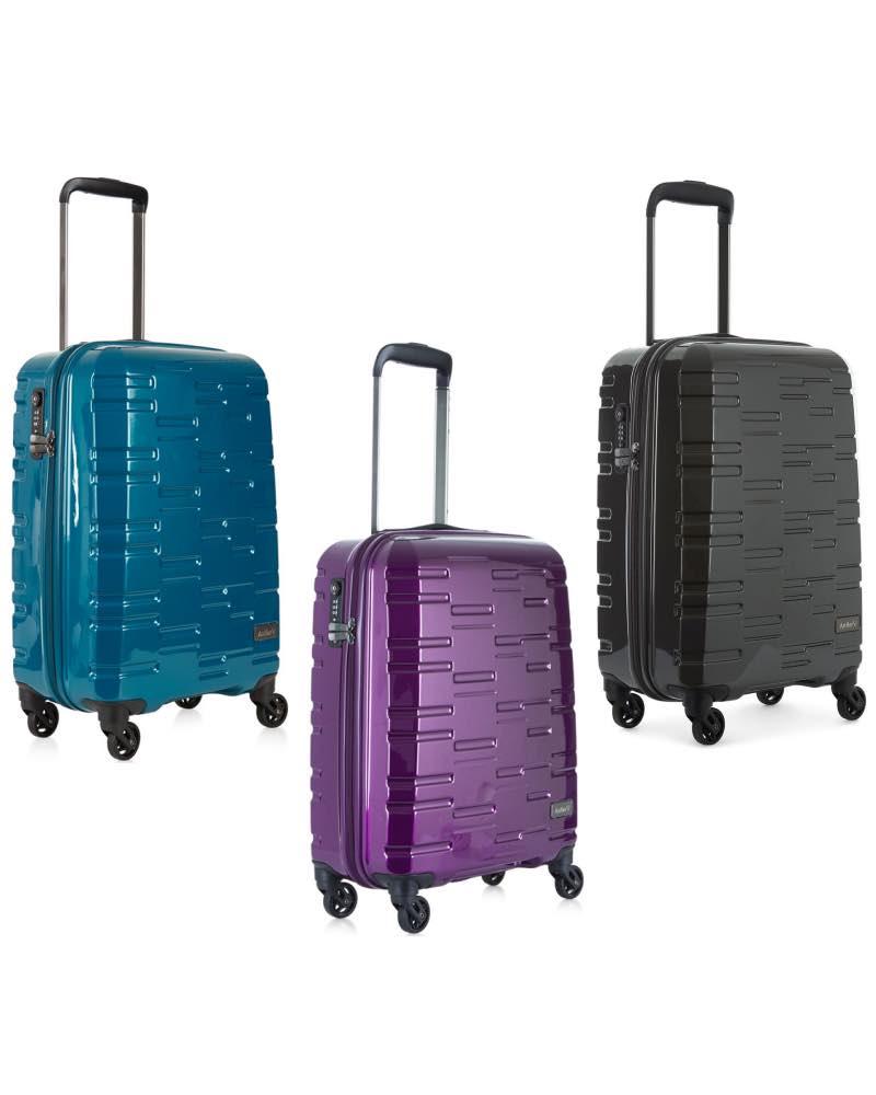 Antler : Prism Hi-Shine - Cabin Roller Luggage 4 Wheel by Antler ...