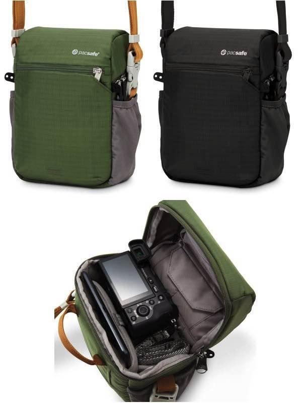 Pacsafe Camsafe V4 Anti Theft Compact Camera Travel Bag By