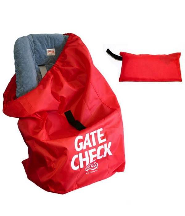 Car Seat Gate Check Travel Bag - Red : JL Childress by JL Childress