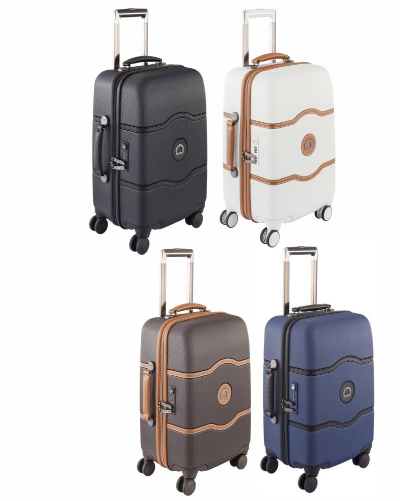 Delsey Chatelet Hard Cabin Luggage 55 Cm 4 Wheel By