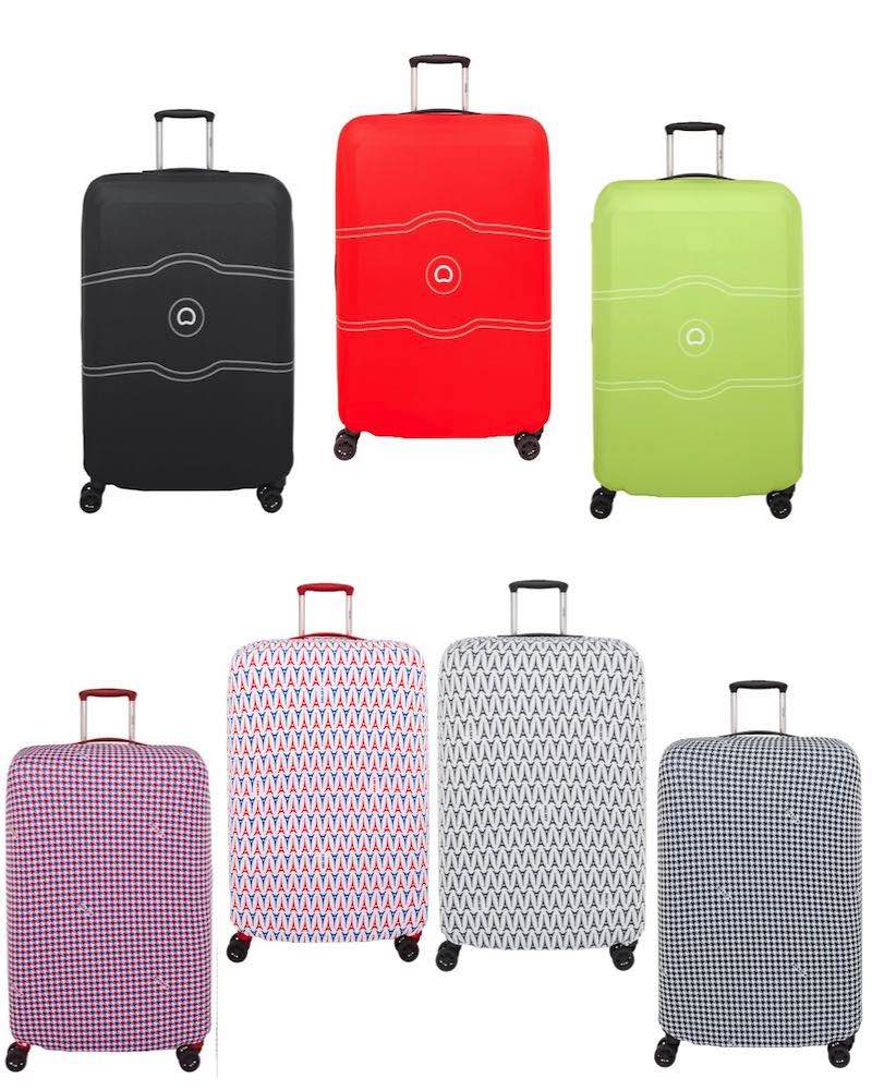 e05bd2897 Delsey : Luggage Cover - Expandable Suitcase Cover - Large / Extra Large by Delsey  Travel Gear (L-XL-Suitcase-Cover)