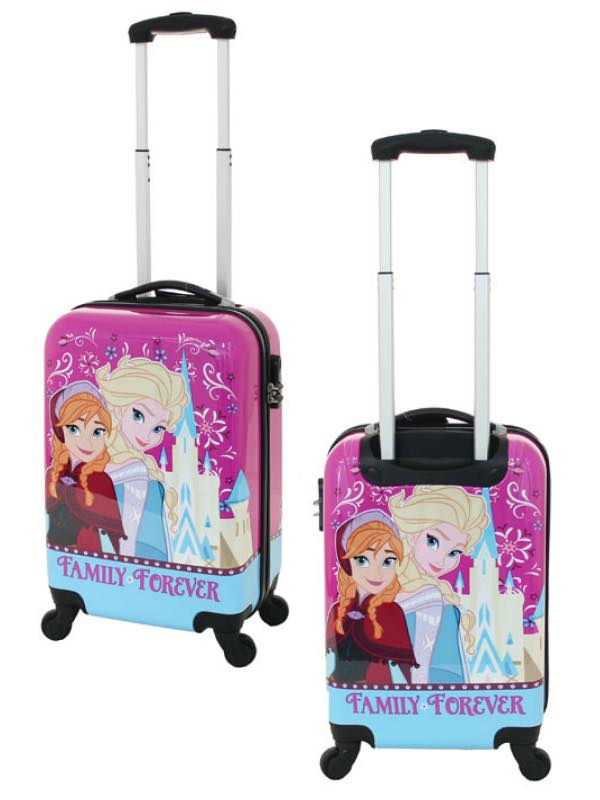 c7453b14d04 Disney   Carry-On Cabin Bag   4 Wheel Spinner 19 inch - Frozen by Frozen  (DIS108-19-FROZEN)