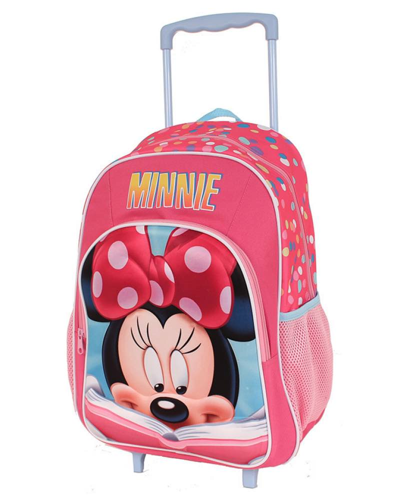 Disney Minnie Mouse 17 Quot Backpack 2 Wheel Trolley Cabin