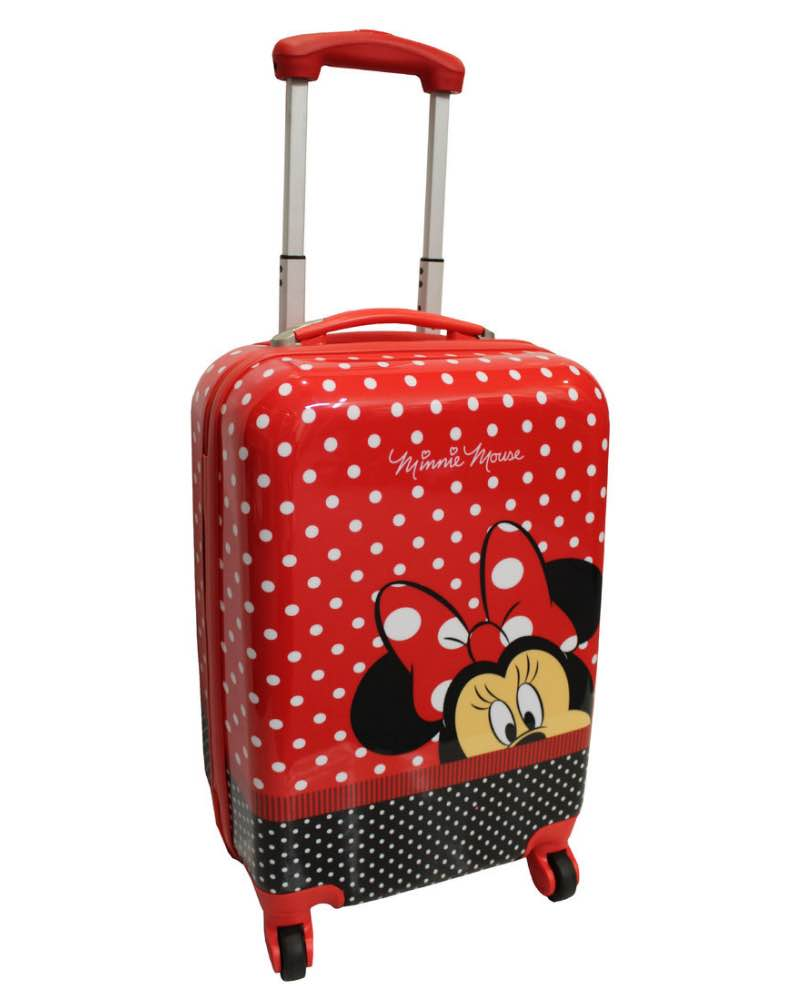 e2e04dbeeb Disney   Minnie Mouse - 51cm 4 Wheel Spinner Carry-On Cabin Case - DIS121  ...