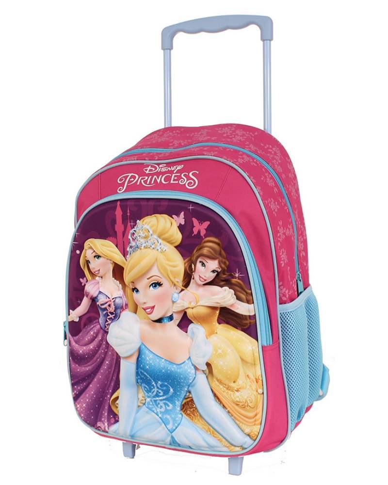 Disney Frozen Anna Elsa Kids Wheeled Trolley Bag School Travel Cabin Holiday Bag