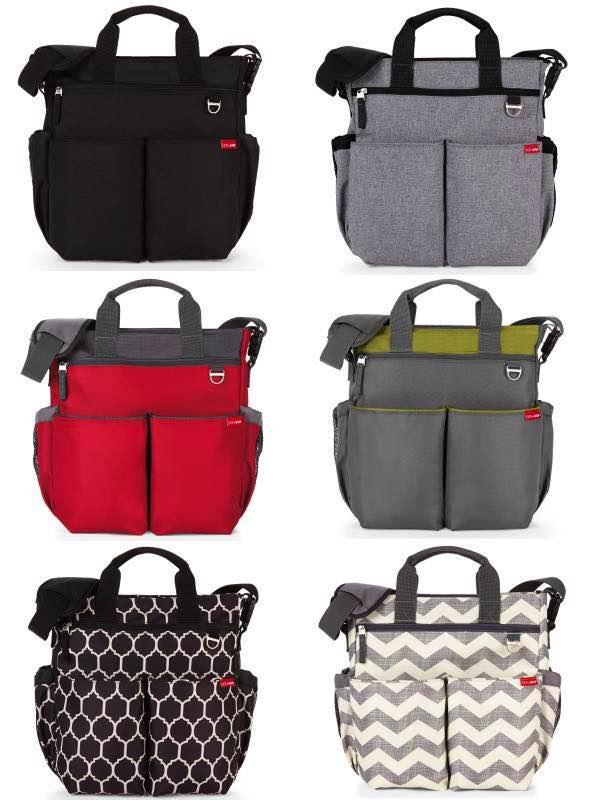 duo signature nappy bag skip hop by skip hop duo signature nappy bag. Black Bedroom Furniture Sets. Home Design Ideas