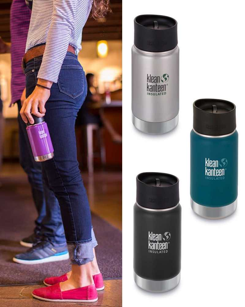 Klean Kanteen 355ml Vacuum Insulated Wide Stainless
