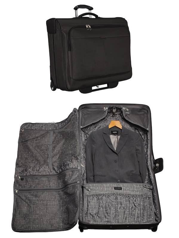 21049e412b Mar Vista   2 Wheel Rolling Garment Bag - Black   Ricardo Beverly ...