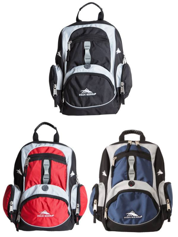 High Sierra Mini Backpack by High Sierra Travel Bags (Mini-Backpack-HS) 67093902cf97a