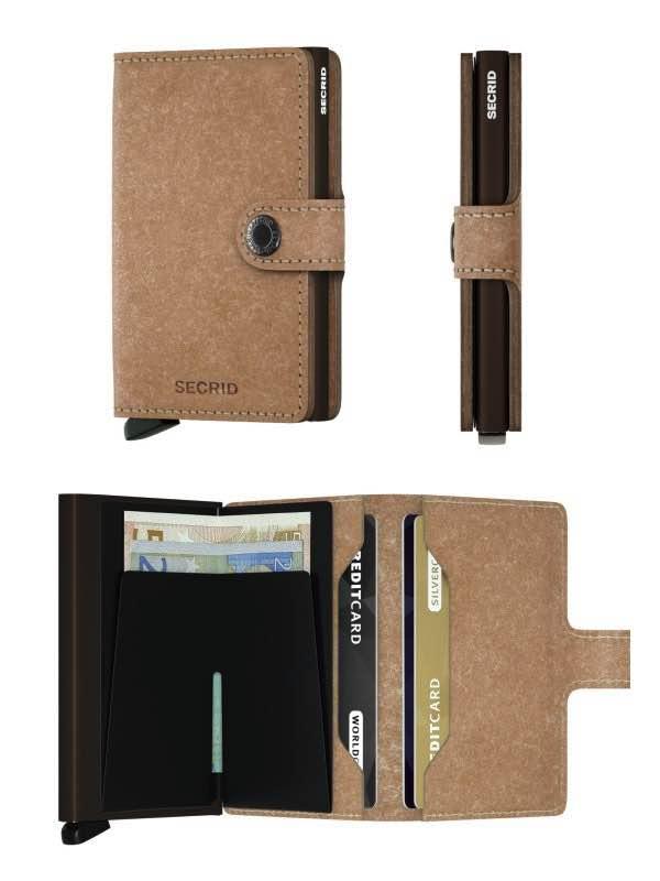 4e5e1de1764 Miniwallet - Compact Wallet - Natural Recycled : Secrid by Secrid (SC1245)