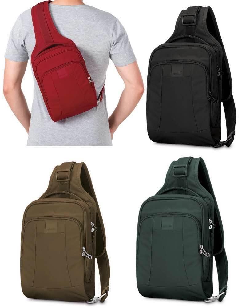 78dd85855ca3 Pacsafe Metrosafe LS150 - Anti-Theft Sling Backpack - Metrosafe-LS150-Sling  ...