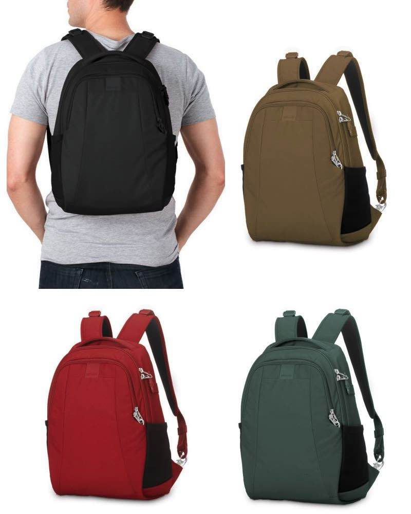 Pacsafe Metrosafe Ls350 Anti Theft 15l Backpack By