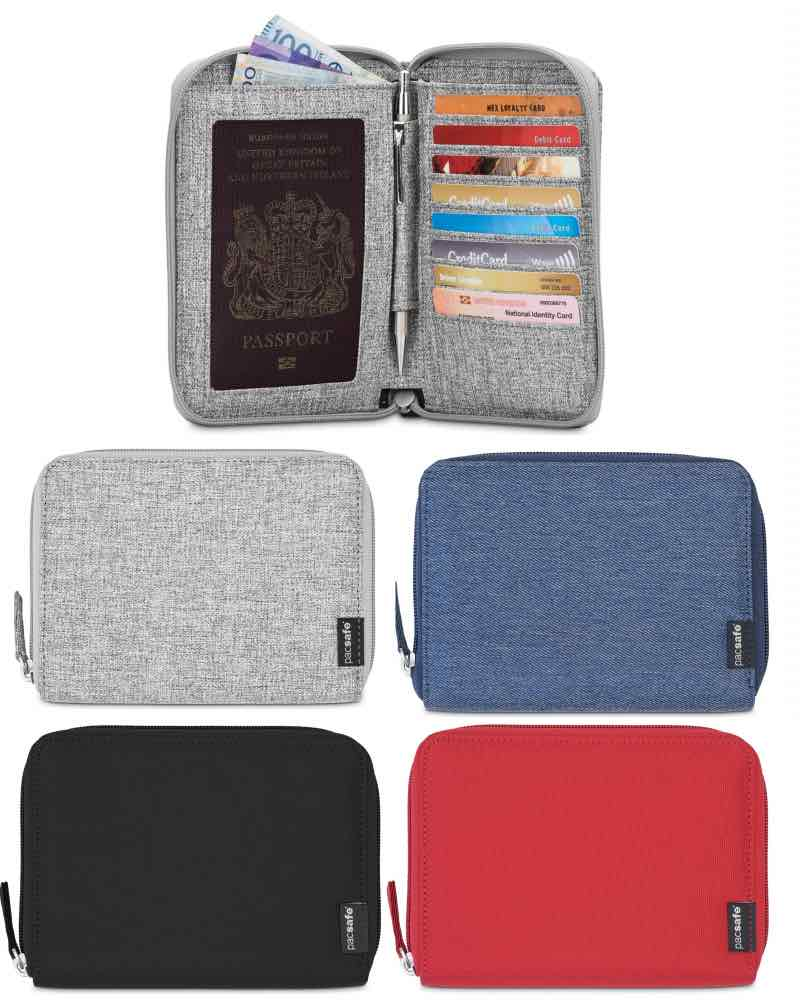 d1dad303642c Pacsafe RFIDsafe LX150 - Anti-Theft RFID Blocking Travel Wallet