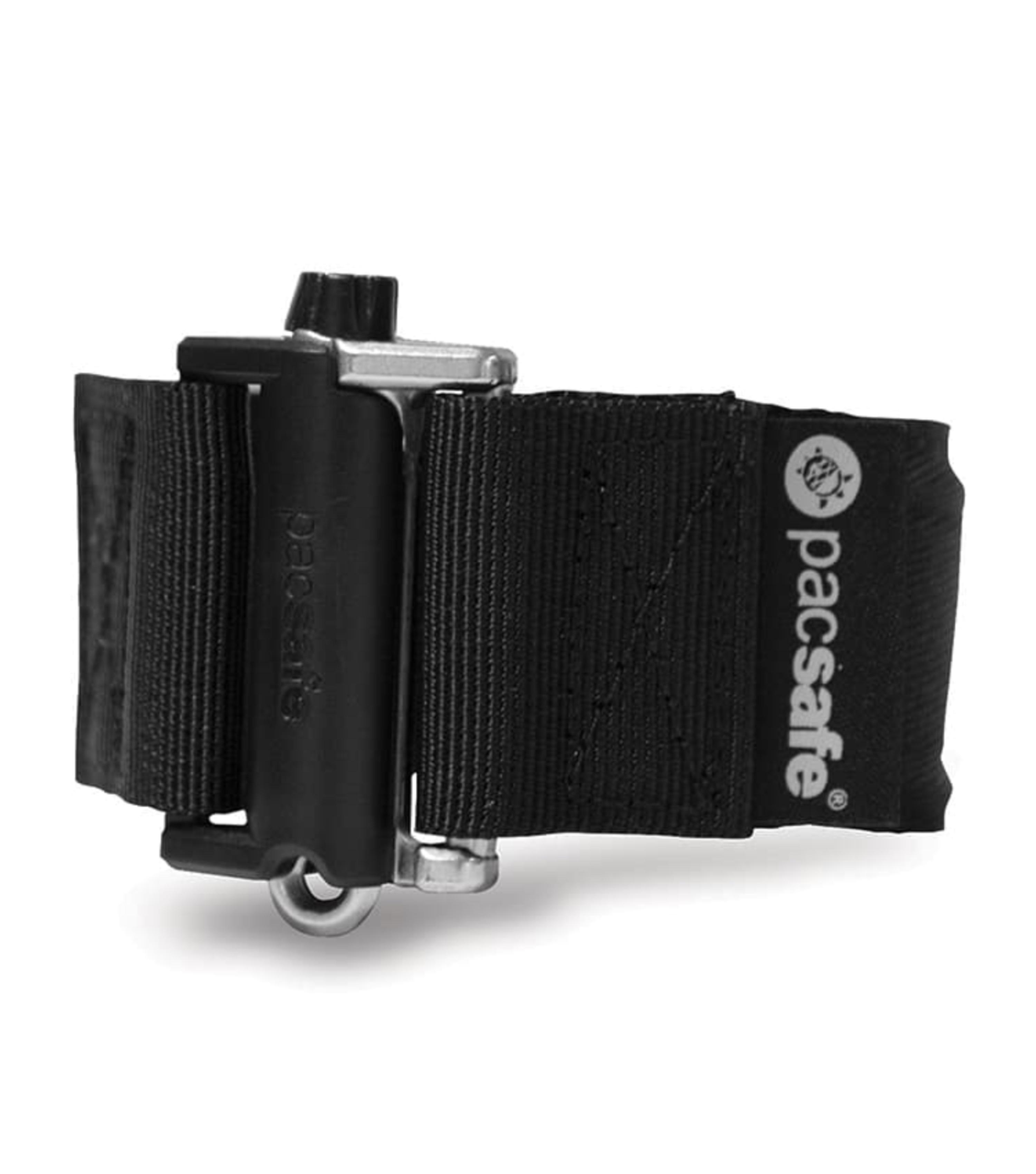 Black Pacsafe Belt Extender