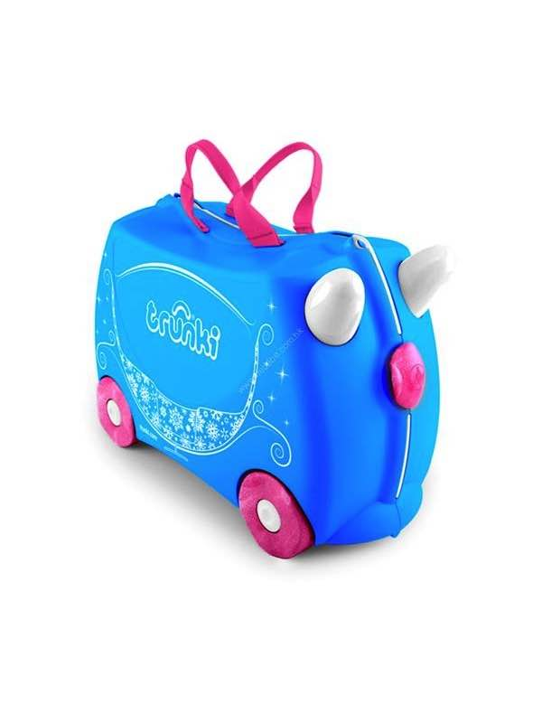 19dd948be703 Trunki Princess Carriage - Ride on Suitcase - Pearl by Trunki ...