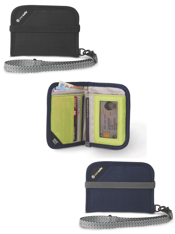 4fe706051b8 Pacsafe RFIDsafe V50   RFID Blocking Compact Wallet by Pacsafe ...