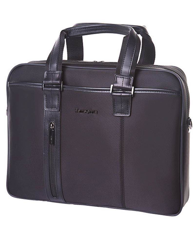 f842c28d3 Samsonite CITA SPL - Slim Laptop Briefcase - Black by Samsonite ...
