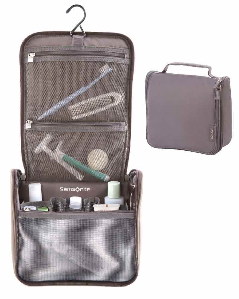 22d499339c Samsonite Hanging Toiletry Kit - Grey by Samsonite Luggage (51748-1408)