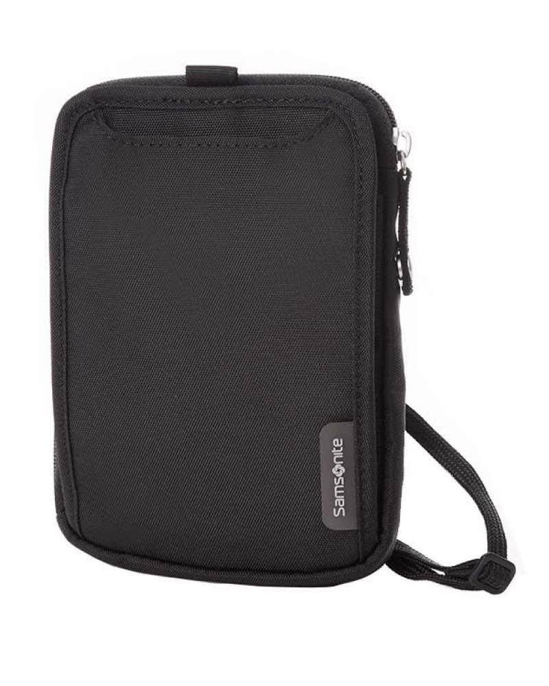508300656577 Samsonite : Neck Travel Wallet - Black by Samsonite Luggage (51756-1041)