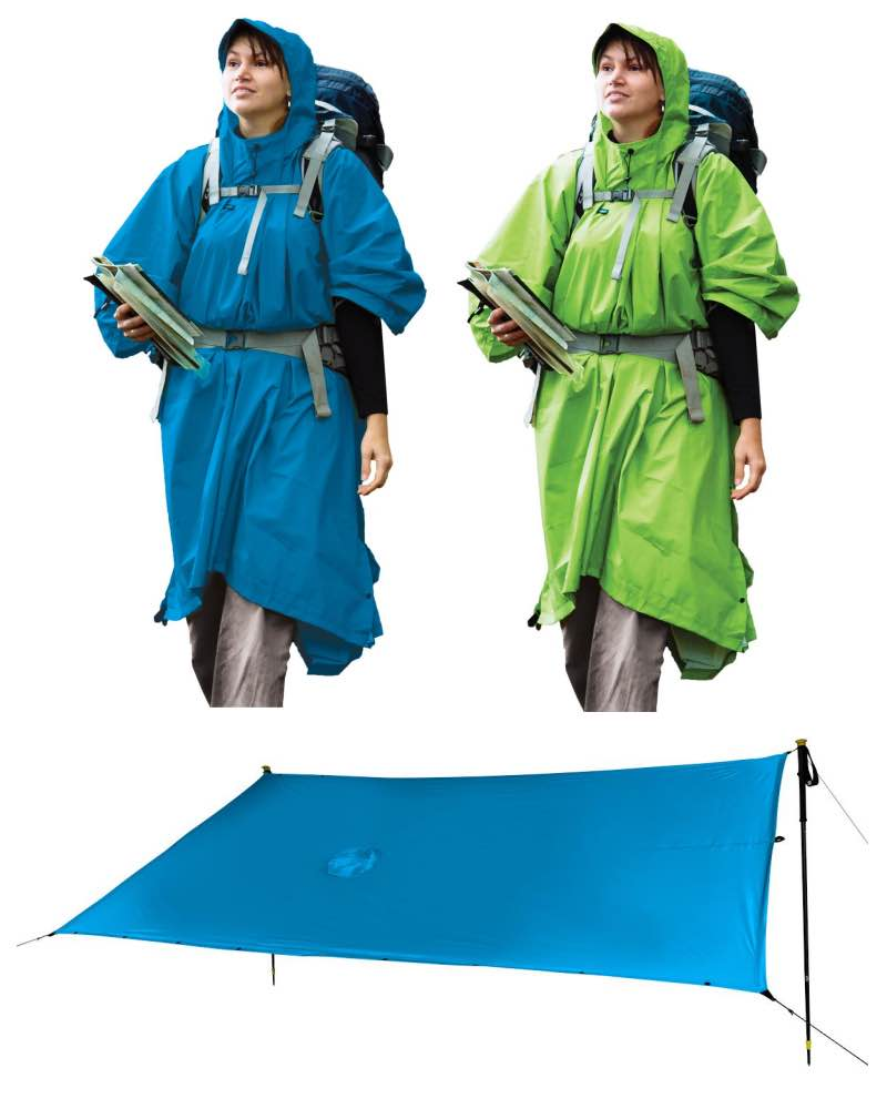 09db82d20816 Sea to Summit 70D Nylon Waterproof Tarp   Poncho - Available in 2 ...