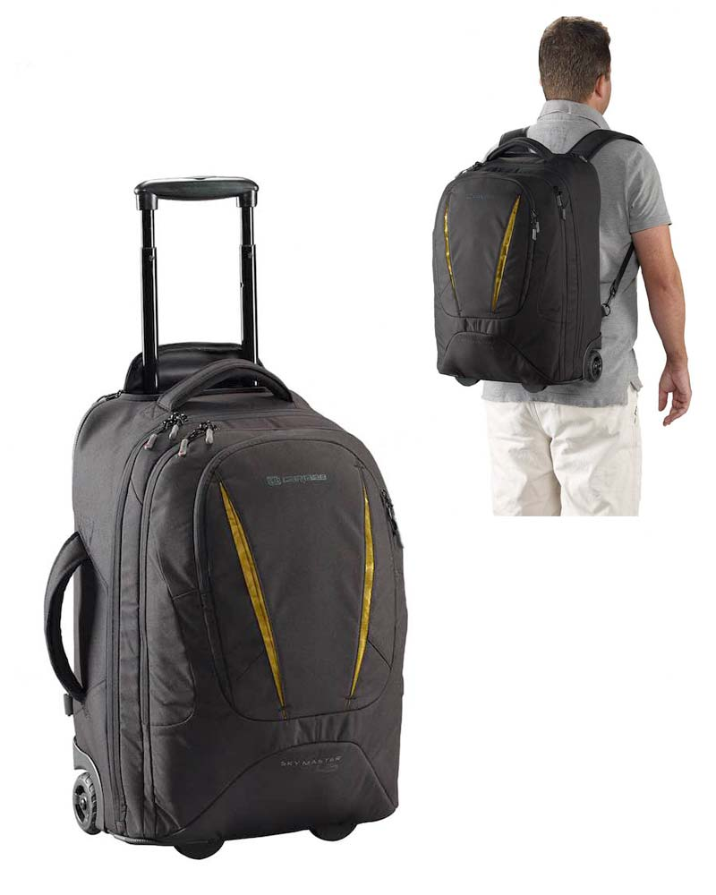 4175a65474e9 Sky Master 45 Wheeled Trolley Backpack - Black : Caribee