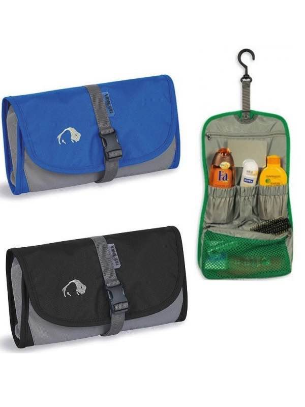 f9fba1824cd Small Travelkit : Foldable Toiletries Bag : Tatonka (Green colour colour is  not currently available, all items shown are for illustration purposes only)