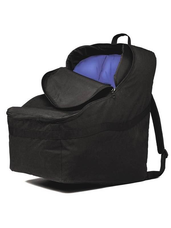 Jl Childress Ultimate Padded Backpack Car Seat Travel Bag Black