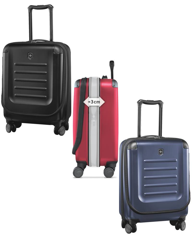 8687f7bddd3e Victorinox Spectra Expandable Dual-Access Global Carry-On 2.0 - 55cm ...