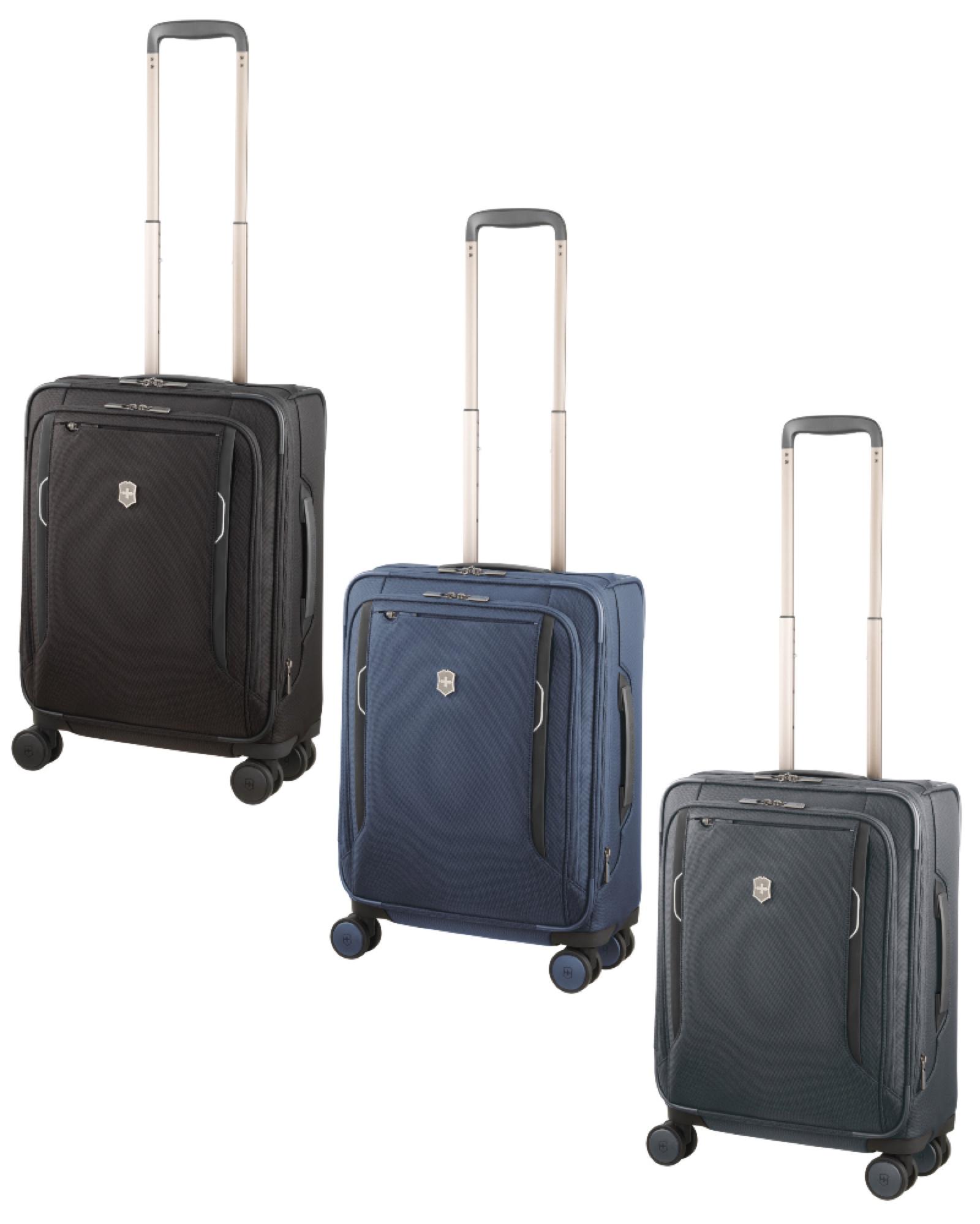 3f77ef26ec22 Victorinox Werks Traveller 6.0 - 55cm Dual-Caster Expandable Softside  Global Carry-on