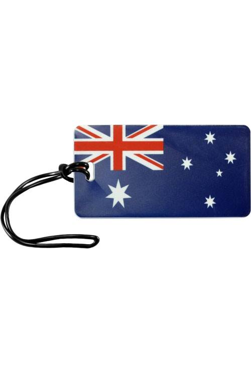 Australian Flag : Luggage Tag