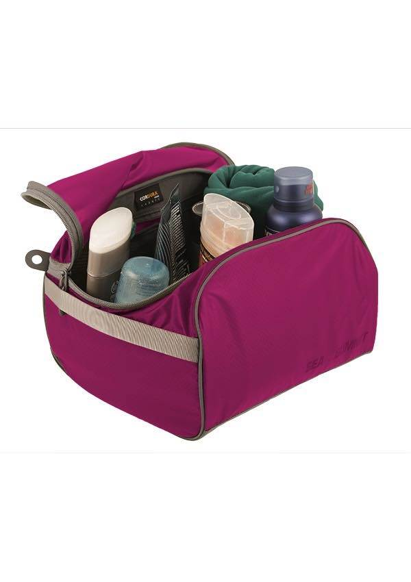 Lightweight Travel Toiletry Cell / Packing Cube : Large - Berry : Sea to Summit