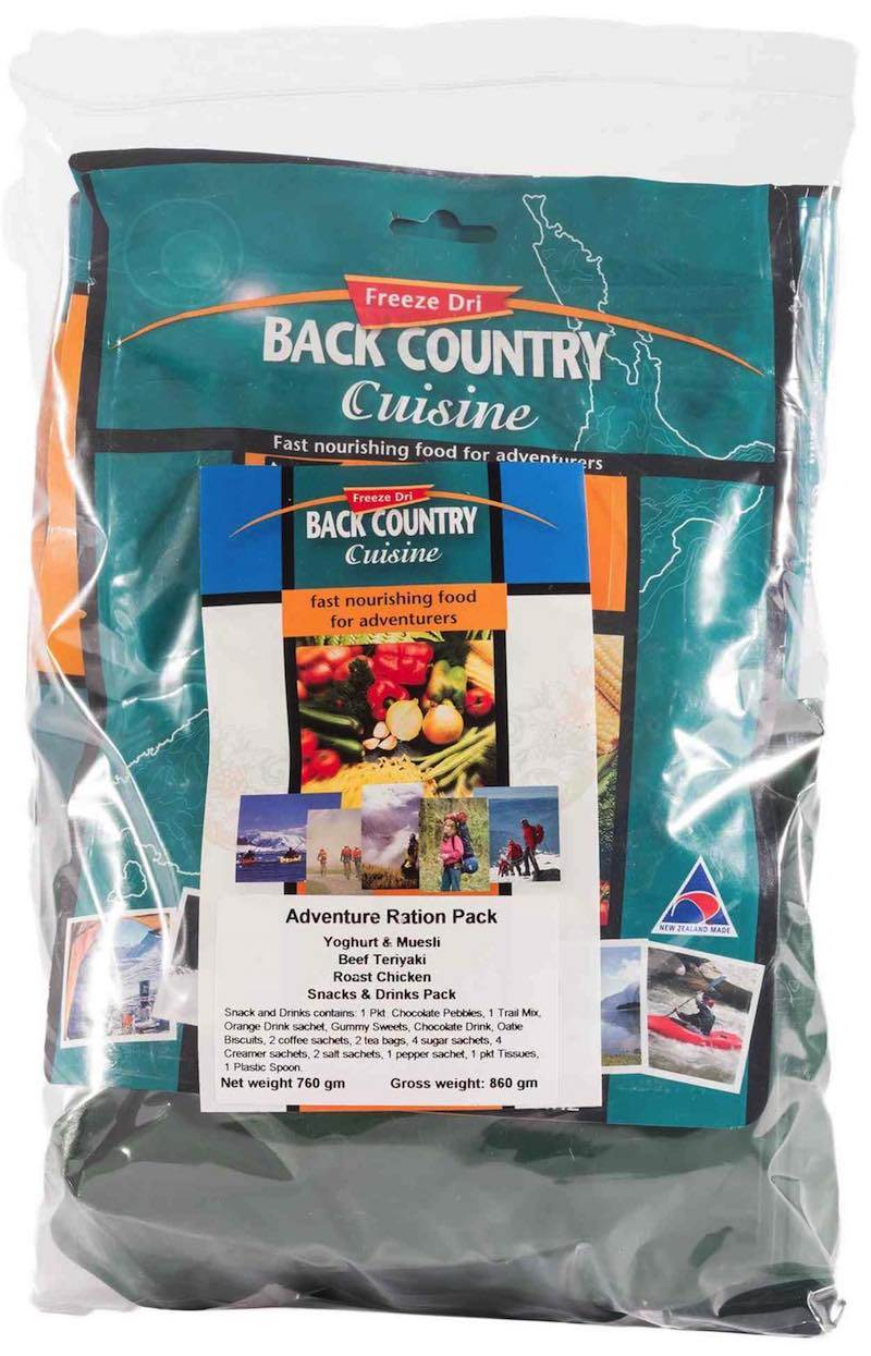 Back Country Cuisine : Adventure Emergency Ration Pack