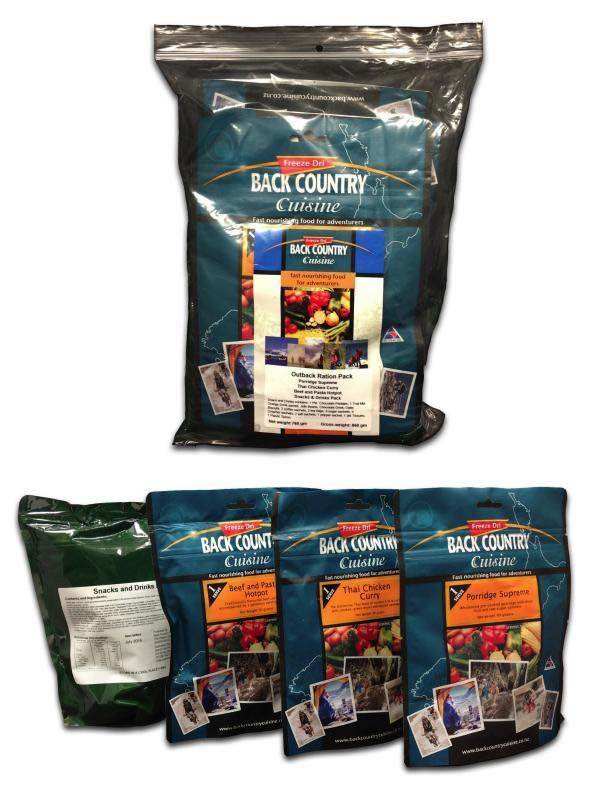 Back Country Cuisine : Outback Ration Pack