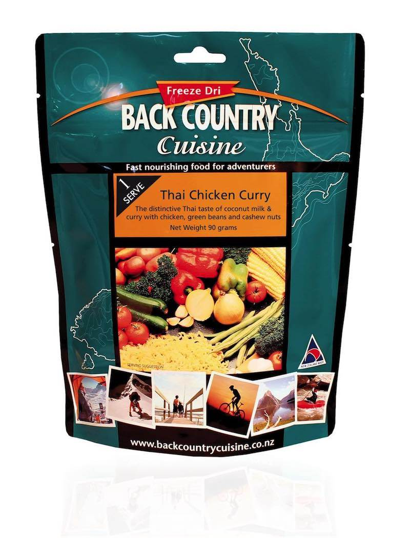Back Country Cuisine : Thai Chicken Curry - Single Serve