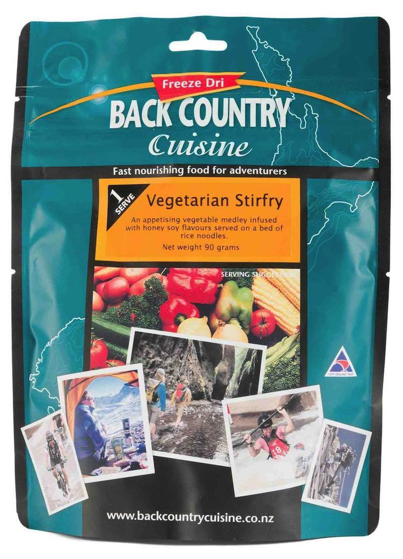 Back Country Cuisine : Vegetarian Stirfry - Single Serve