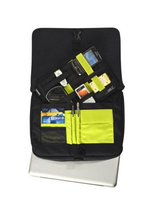 Union Square Messenger Bag - For 13 Inch MacBook/Pro - Black/Yellow : Cocoon