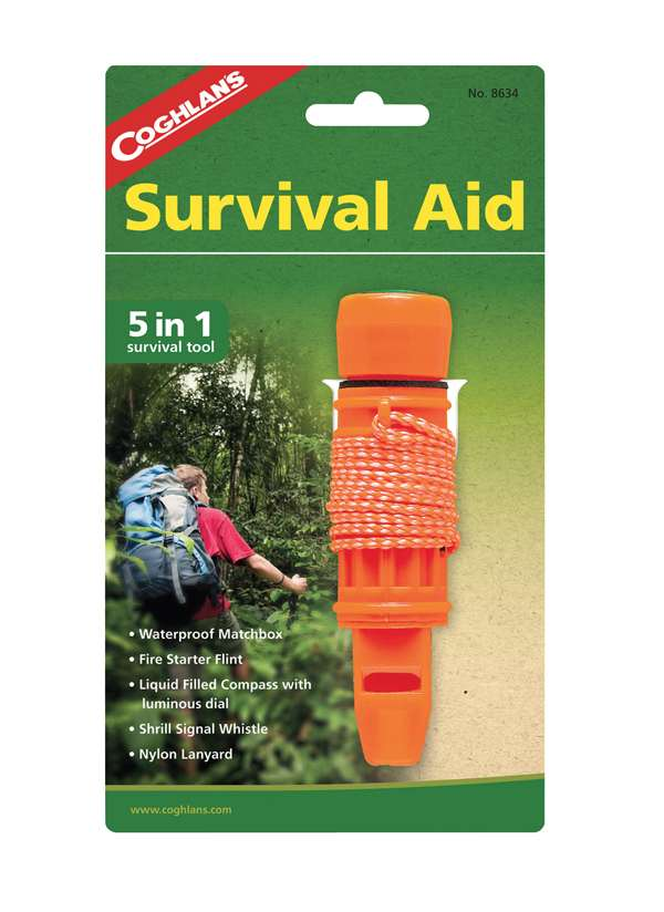 5 in 1 Survival Aid : Coghlans