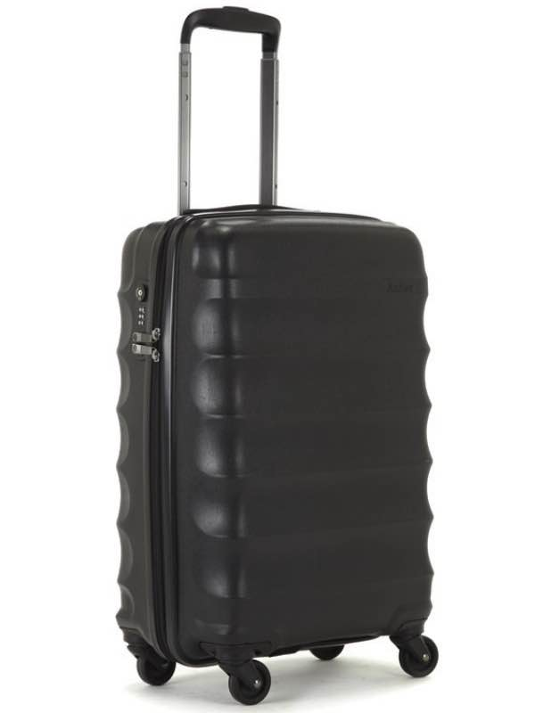 4 Wheel Cabin Roller Case - Black - Juno : Antler