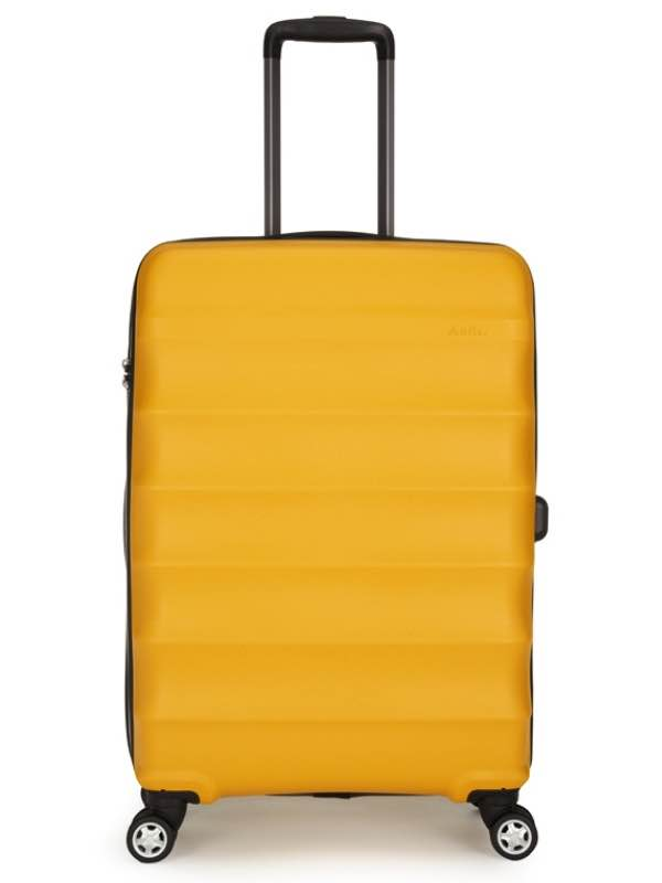 4 Wheel Medium Roller Case - Yellow - Juno : Antler