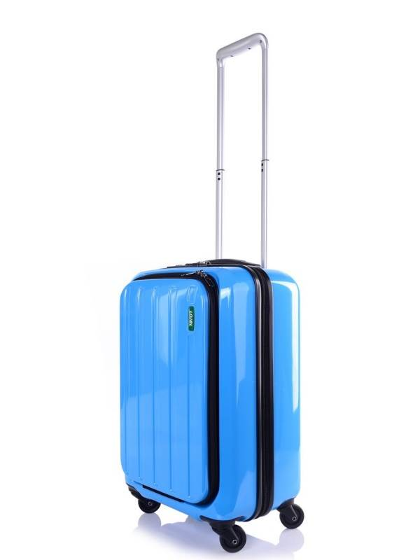 Blue : 55cm : 4 Wheel Carry-On : Lucid : Lojel