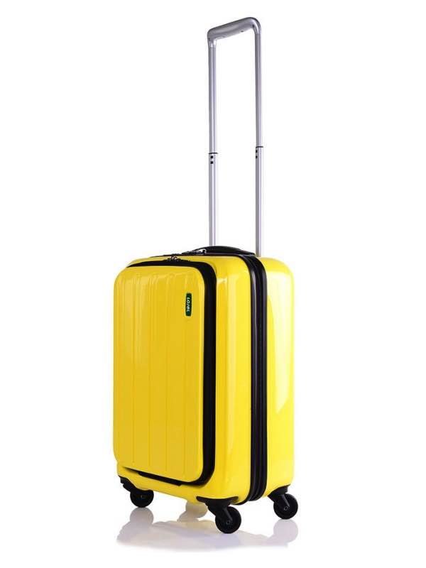 Cabin Bag : 55cm : Lucid : 4 Wheel : Yellow : Lojel
