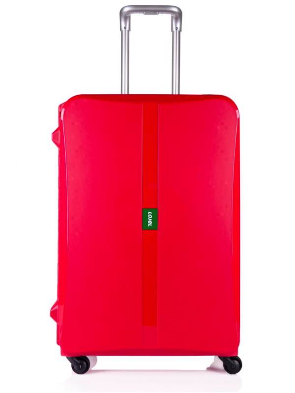 76cm : OCTA : 4 Wheel Suitcase : Red : Lojel