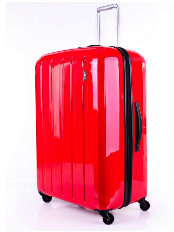 4 Wheel 81 cm Suitcase - Red - Lucid : Lojel