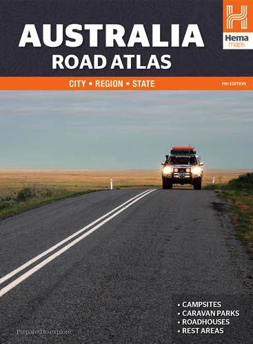 Australia Road Atlas : Edition 11 : Spiral Bound : Hema