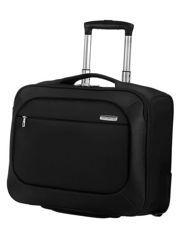B'Lite : Rolling Tote / Wheeled Laptop Bag - Black : Samsonite